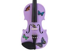 Childrens Violins | Purple Butterfly Childrens Violin