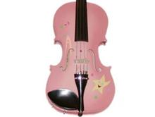 Childrens Violins | Pink Twinkle Star Violin