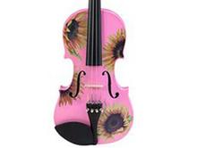 Childrens Violin | Pink Sunflower Childrens Violin
