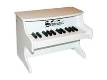 25 Key White Toy Piano