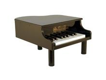 Black Mini Grand Piano