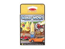 Melissa and Doug Coloring Books | Vehicles Water Wow