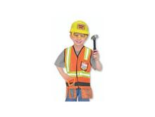 Melissa and Doug Role Play Sets | Construction Worker Dress Up