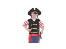 Melissa and Doug Role Play Sets | Pirate Dress Up