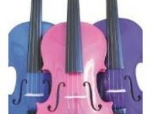 Childrens Colored Violins
