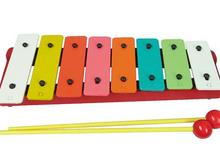 8 Note Metal Xylophone