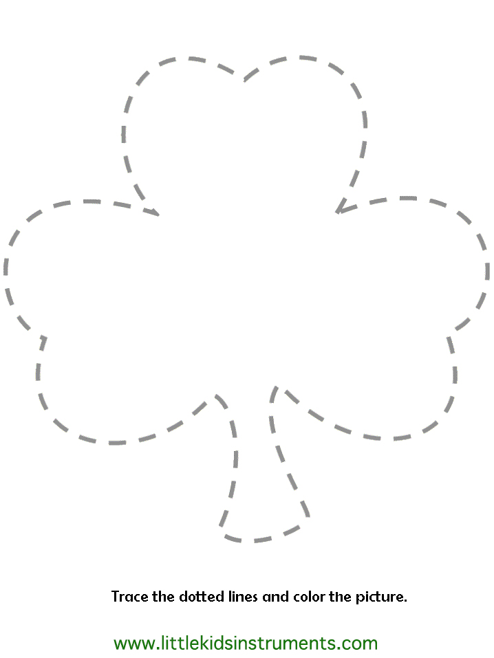 St Patricks Day Coloring Pages Shamrock Coloring Page