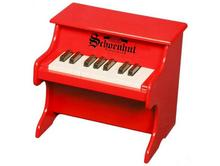 18 Key Red Toy Piano