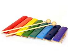 8 Note Wood Xylophone